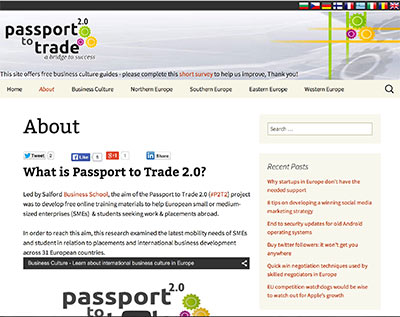 Business Culture - Passport to Trade 2.0
