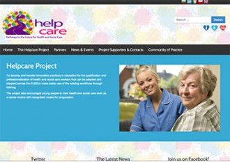 Helpcare website