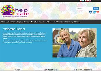 Helpcare website