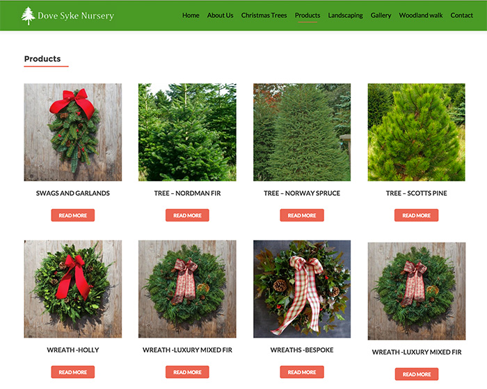 Dove Syke Christmas Trees