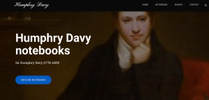 Humphry Davy Notebooks